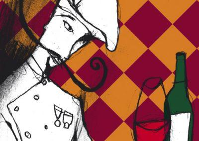ilustraciones almanaque el vino almanac illustrations