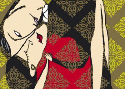ilustraciones almanaque tango almanac illustrations