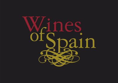 wines of spain logo y etiquetas