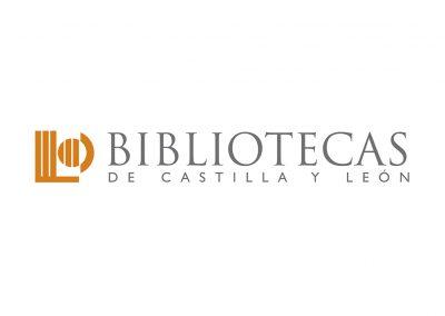 bibliotecas de castilla y león logo