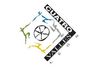 cuatrovalles logo y aplicaciones