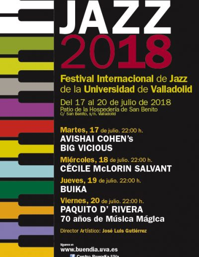Jorge Barrientos UVa Universijazz cartel