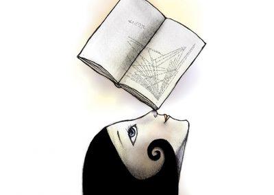 ilustraciones almanaque jorge barrientos. ilustraciones escritas para un libro de papel. almanac illustrations